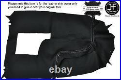White Stich Centre Console Leather Cover For Holden Commodore Vr Vs Hsv Ss 93-97